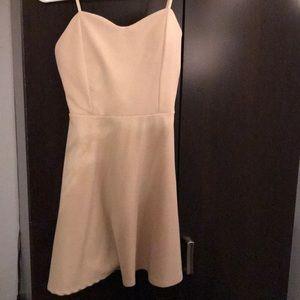 Tigerlily Dresses - Cream plain dress